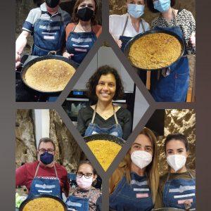 taller de paella